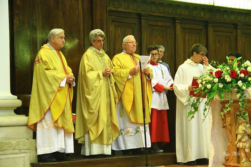 50^mo ordinazione sacerdotale dei don Cesco e Russolo