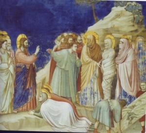 Giotto: Ressurezione di Lazzaro