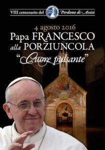 4 Agosto 2016 - Papa ad Assisi